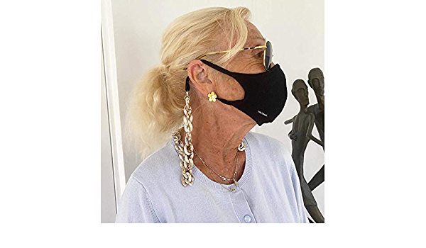 Personalized Face Mask Chain l Face Mask Holder l Mask Necklace l Mask Lanyard l Face Mask Chain for Adults and Kids l Sunglasses chain