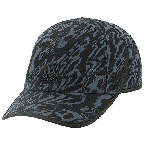 adidas Womens Adizero Ii Cap, Black Ikat Zebra Print, One (Adidas Outdoor Hat)