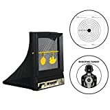 Atflbox AirSoft Targets For Shooting Reusable BB Airsoft Target Metal Target For Indoor, Outdoor Ranges
