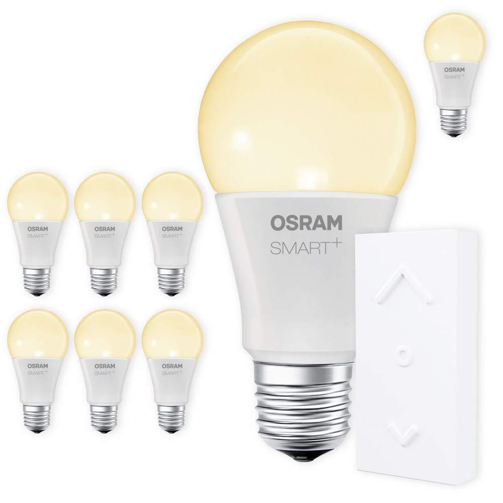 OSRAM SMART+ SWITCH KIT E27 2700K warmweiß dimmbar LED + Fernbedienung weiß Auswahl 8er Set