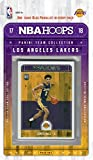 Los Angeles Lakers 2017 2018 Hoops Basketball Factory Sealed 11 Card NBA Licensed Team Set with Lonzo Ball Rookie Card Plus