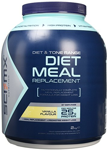 SCI-MX Nutrition Diet Pro Meal 2 kg Vanilla - High protein meal shake with...