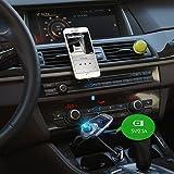 VicTsing Bluetooth FM Transmitter, Wireless
