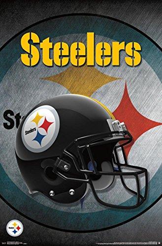 Trends International Pittsburgh Steelers Helmet Wall Poster 22.375