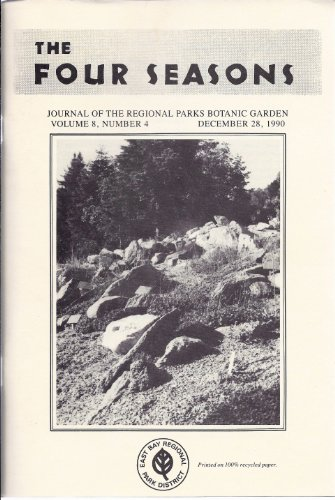 The Four Seasons (December 28, 1990, Vol. 8, No. 4) (How To Make A Good Vale compare prices)