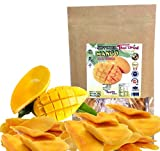 tropical freez - Soft Dried Mango Slices, Fresh Natural and Real Mango, Low Sugar , Unsulfured , Snack to eat. 150 g. or 5.3 Oz. Thai Tasty Yummy.