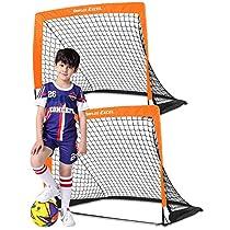 Dimples Excel サッカーゴール 折りたたみ 室内 室外 子供用 大人用