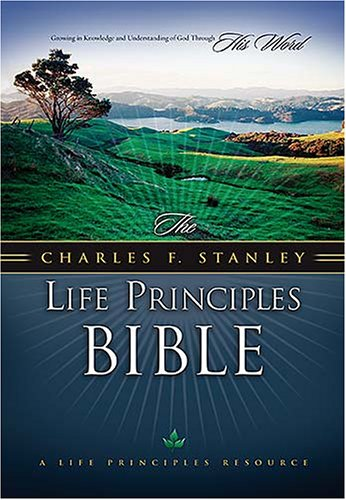 Read Online The Charles F. Stanley Life Principles Bible: New King James Version, Black Genuine Leather ebook