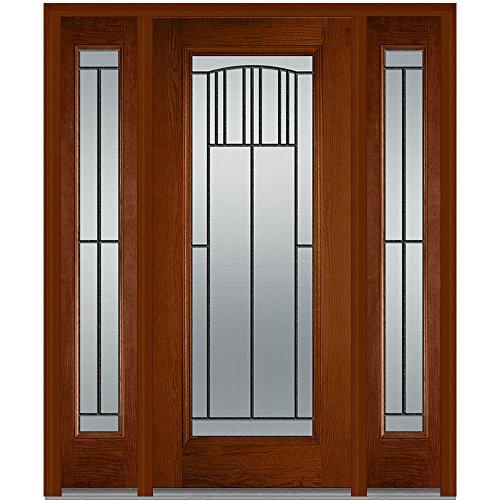 Plastpro National Door Company Z007384L Fiberglass Oak Le...