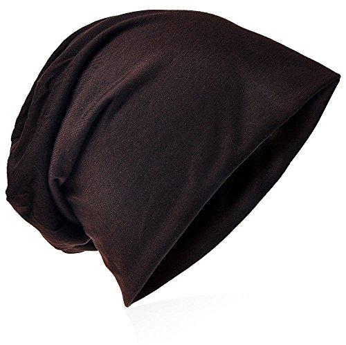 para punto de easy4fashion marrón hombre Gorro q80ftwP7