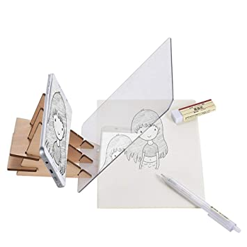 Amazon.com  Aibecy Indraw Sketch Drawing Board Tracing