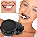 iLH ZYooh Novelty Teeth Whitening Powder 30g Natural Organic Activated Charcoal Bamboo Toothpaste Powder Effective Removes Tooth Stains