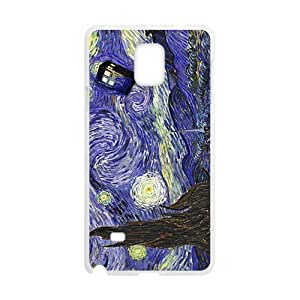 Doctor Starry night painting Who Cell Phone Case for Samsung Galaxy Note4 hjbrhga1544