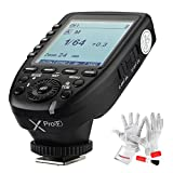 Godox Xpro-F for Fuji Fujifilm TTL Wireless Flash Trigger 1/8000s HSS TTL-Convert-Manual Function Large Screen Slanted Design 5 Dedicated Group Buttons 11 Customizable Functions