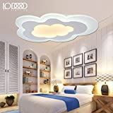LED ceiling lamp modern simple American style ceiling lamp for living room bedroom Kitchen Kids Room ceiling lamp ceiling light,Small