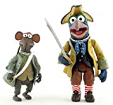 : Muppets Exclusive Treasure Island Pirate Rizzo & Cabin Boy Gonzo Action Figur...