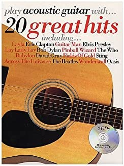 Play Acoustic Guitar With... 20 Great Hits. Partituras, CD para ...
