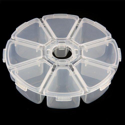 Boite De Rangement Plastique - 8 Plateaux En Plastique Boite De Rangement Coffret A Bijoux Ronde - Wheel Cloth For Linen Unrwear Closet Key Rectangle Cabinet Bucket