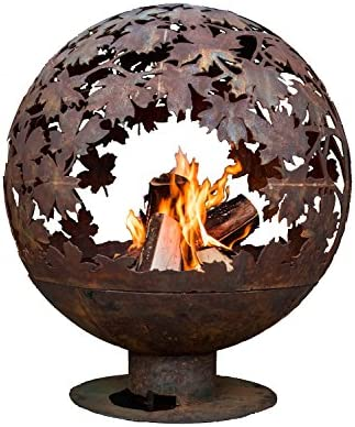 Esschert Design FF1013 Leaf Fire Sphere