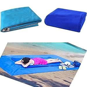 Playa de arena alfombrilla alfombra manta de Picnic, poliéster, alfombrilla de secado rápido fácil de limpieza