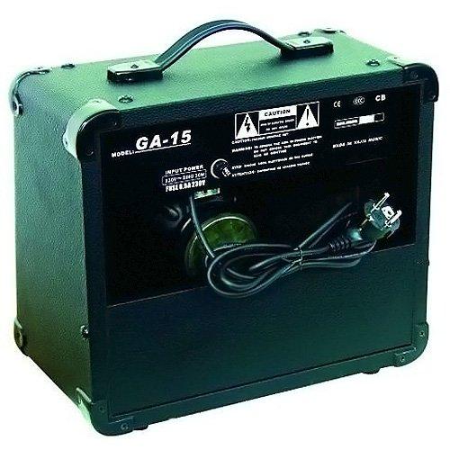 DIMAVERY GA-15 - Amplificador para guitarra eléctrica 15W: Amazon.es: Instrumentos musicales