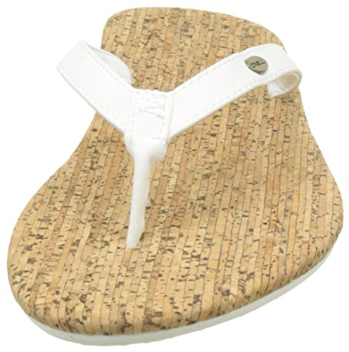 O'Neill Fw Cork Bed Flip Flop - Chanclas Mujer Blanc (Pale Rose Blush)
