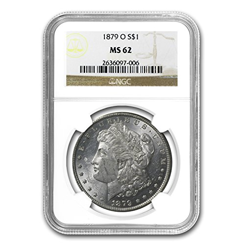 1879 O Morgan Dollar MS-62 NGC $1 MS-62 NGC