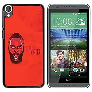 BBCase JamesHardenFearRocketsPosterizes_iPhone5 HTC Desire 820 - - Slim 360 Protection Case Cover PC / Aluminium Protector Shell Rugged