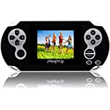 Handheld Game Console,YANX Portable Video Game Console Game Player Gifts for Boys Girls Kids Children (pmpblack)