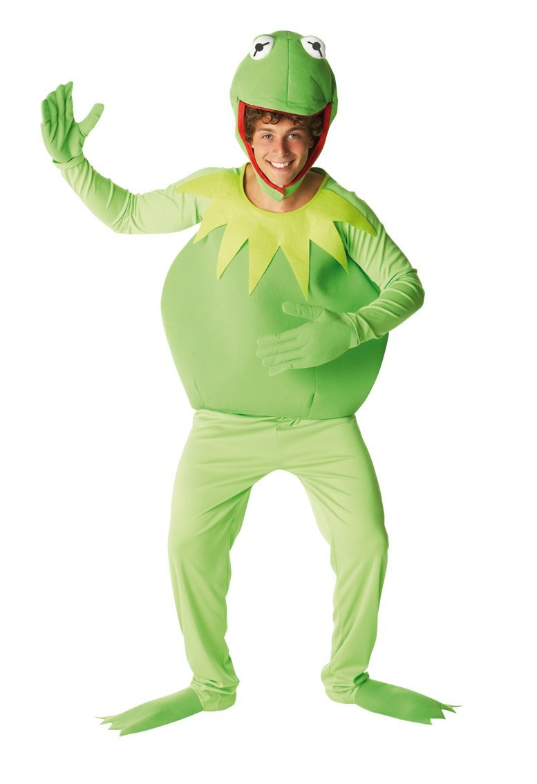 Disney Muppets Kermit Costume. Standard or X-Large.
