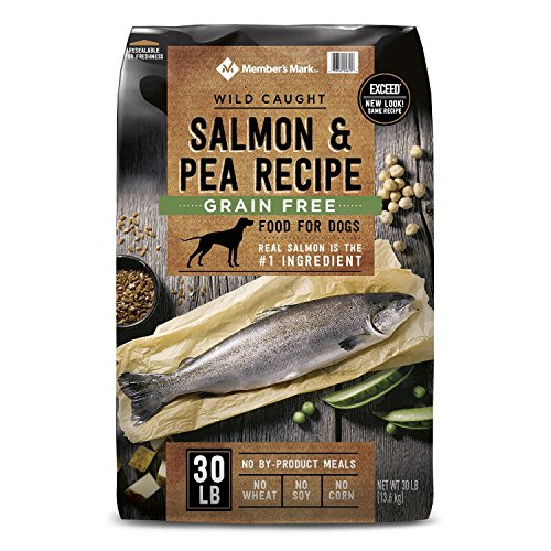 Member's Mark Exceed Grain-Free Dry Dog Food, Wild-Caught Salmon & Peas (30 lbs.) (pack of 2) by Member's Mark