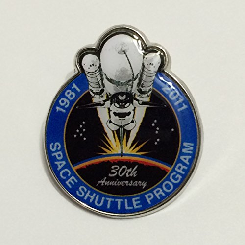 New Nasa Final Space Shuttle Mission Pin Contains Metal Flown on a Space Shuttle Mission Limited Edition
