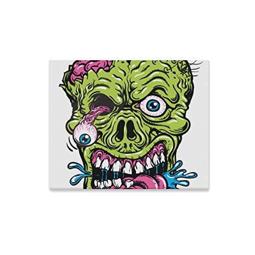 Wall Art Painting Detailed Zombie Head Prints On Canvas The Picture Landscape Pictures Oil for Home Modern Decoration Print Decor for Living Room -