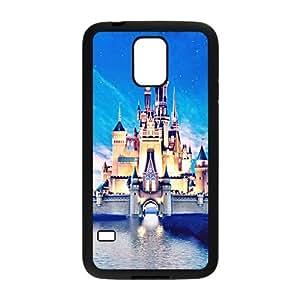 JIUJIU Beautiful Castello sul Mare Cell Phone Case for Samsung Galaxy S5