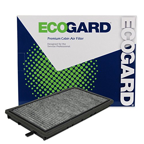 ECOGARD XC25664C Cabin Air Filter with Activated Carbon Odor Eliminator - Premium Replacement Fits BMW 328i, 325i, M3, 318i, 325is, 328is, 318is, 323i, 323is ()