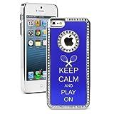 Apple iPhone 5c Blue CS1214 Rhinest