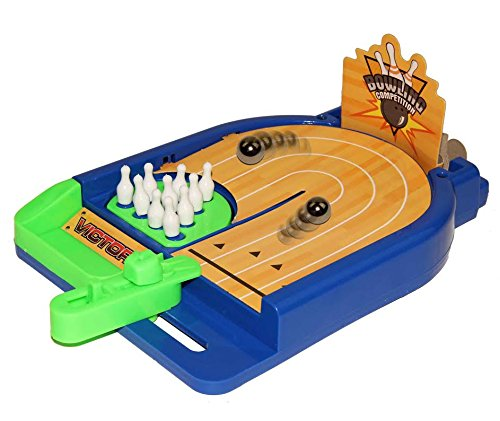 Dazzling Toys Play on Table Bowling Game with Music.