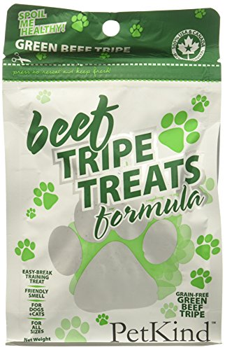 Petkind Green Beef Tripe Treats For Dogs, 6 Oz