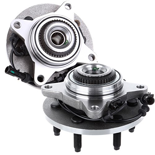 SCITOO Compatible with 2 Front Fits F-150 Expedition ABS 4WD 4x4 Wheel Hub and Bearing Assembly 515079 X 2]()