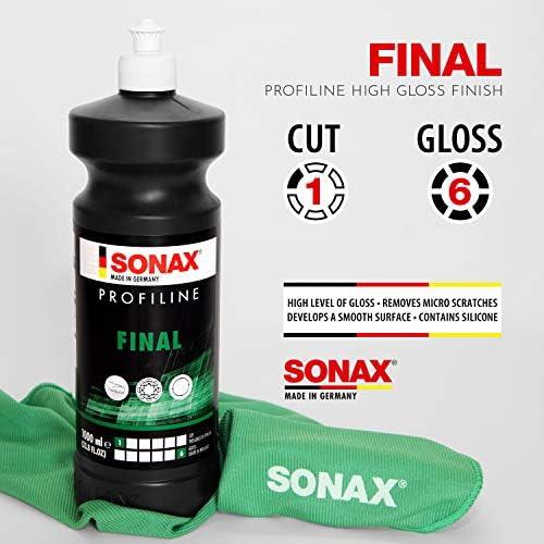 Sonax Profiline Final 1 Liter Milde Hochglanzpolitur Mit Schnellversiegelung Für Hand Und Maschinenanwendung Art Nr 02783000 Auto