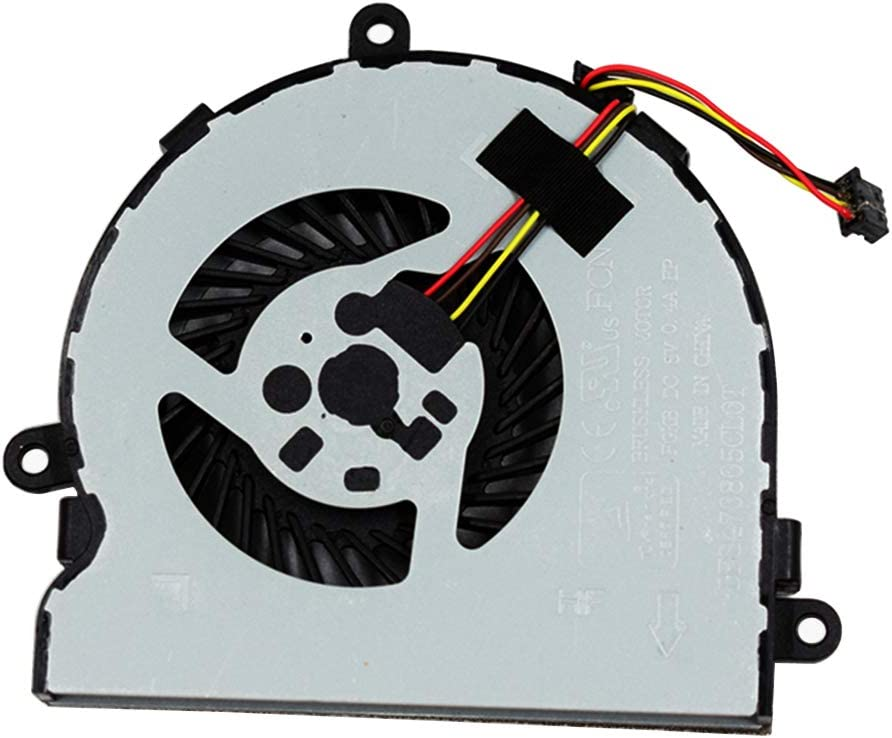 CPU Cooling Fan Compatible for HP 15-BW 15-BW001 15-BW011DX 15-BW004WM 15-BW032WM 15-BW033WM 15-BW015DX 15-BW016DX 15-BW038DX 15-BW099AU 15-BW018UR 15-BW059UR 15-BW032UR 15-BW070AX Series 925012-001