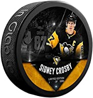 Sidney Crosby Pittsburgh Penguins Unsigned Fanatics Exclusive Player Hockey Puck - Limited Edition of 1000