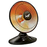 Comfort Zone Oscillating Parabolic Dish Radiant Heater