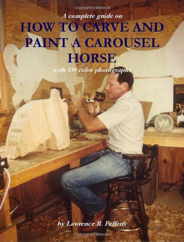 How Carve Paint Carousel Horse product image