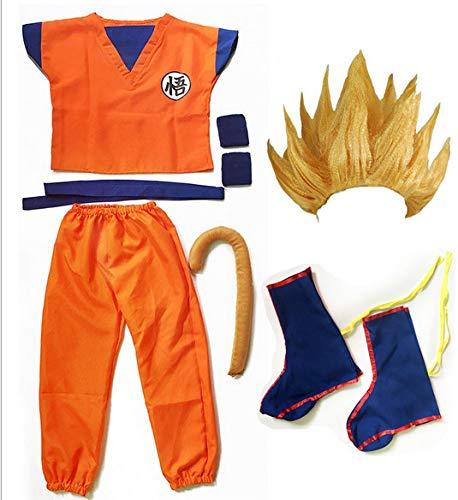 Dragon Ball z Goku Traje de Disfraz para Hijo Cosplay ...