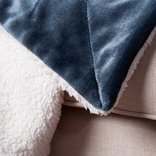 BEDSURE Sherpa Fleece Blanket Twin Throws