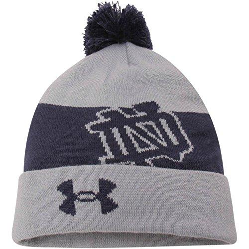 434aa7592dd Under Armour Notre Dame Fighting Irish Youth Cuff Knit Pom Beanie Hat Cap - Buy  Online in Oman.