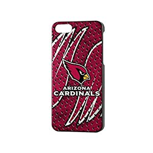 Team Pro Mark Licensed NFL Arizona Cardinals Slim Series Protector Case for Apple iPhone 5/5S - Retail Packaging - Red/White