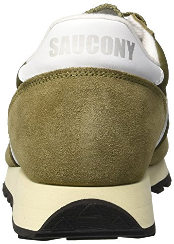 Saucony Herren Jazz Original Vintage Sneaker, Blau, 40 EU Olive White