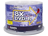 Ritek DVD-R 8X RIDATA-S Cake Box (50-Pack) (Discontinued by Manufacturer)